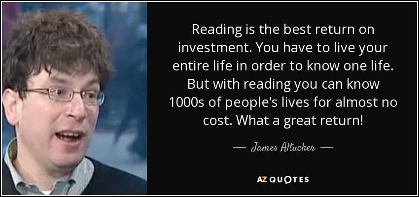 Image result for reading + investment