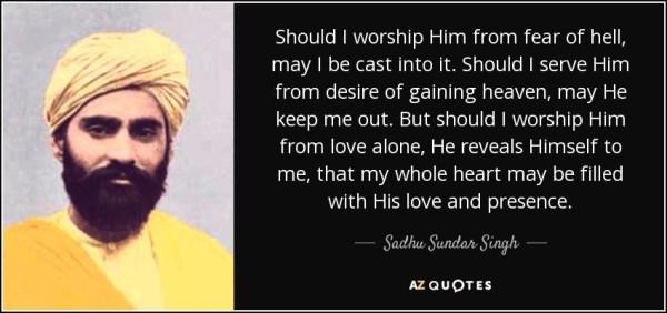 Image result for Sadhu Sundar Singh, Christian Evangelist from India