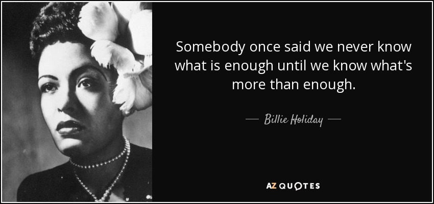 Billie Holiday Love Quotes