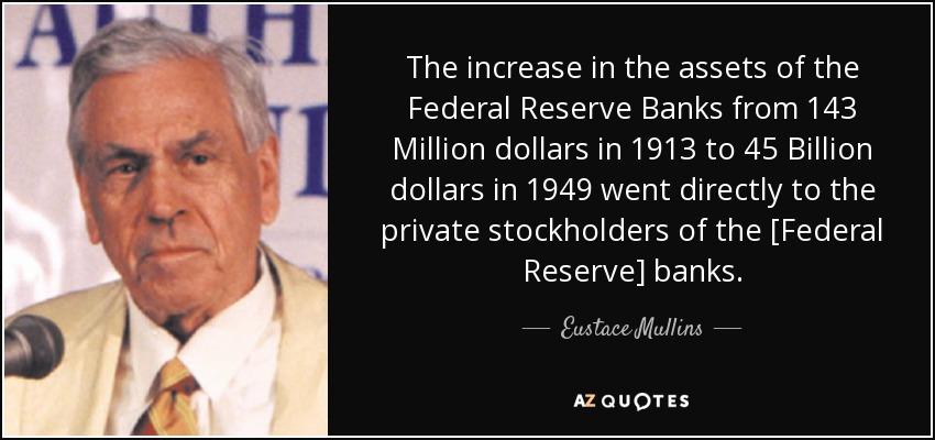 Image result for ezra pound federal reserve bank