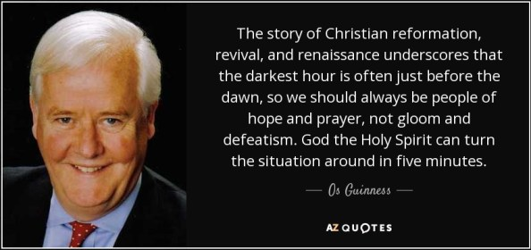 Os Guinness quote: The story of Christian reformation, revival ...