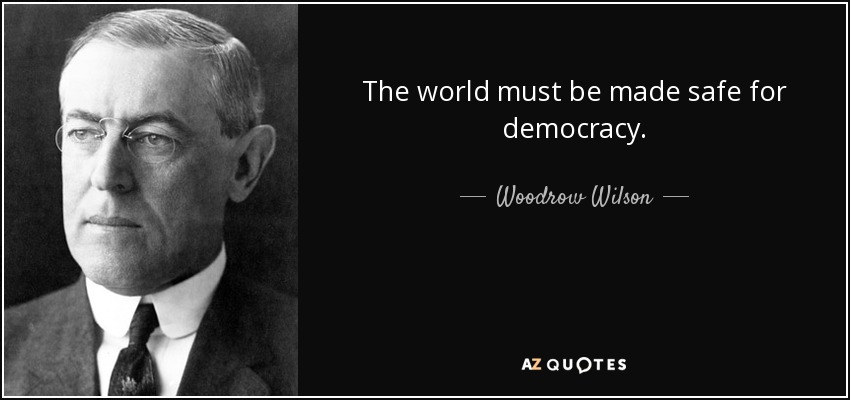 Image result for war safe for democracy