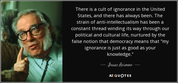 Image result for isaac asimov quotes