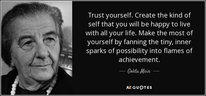 Image result for golda meir quotes