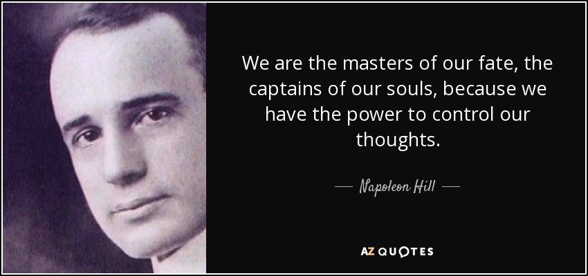 Bildergebnis für master of our thoughts quotes