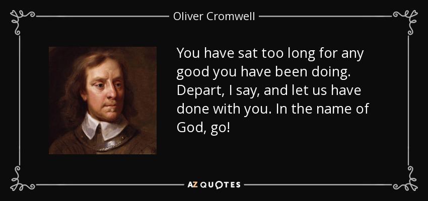 Hasil gambar untuk in the name of god go cromwell