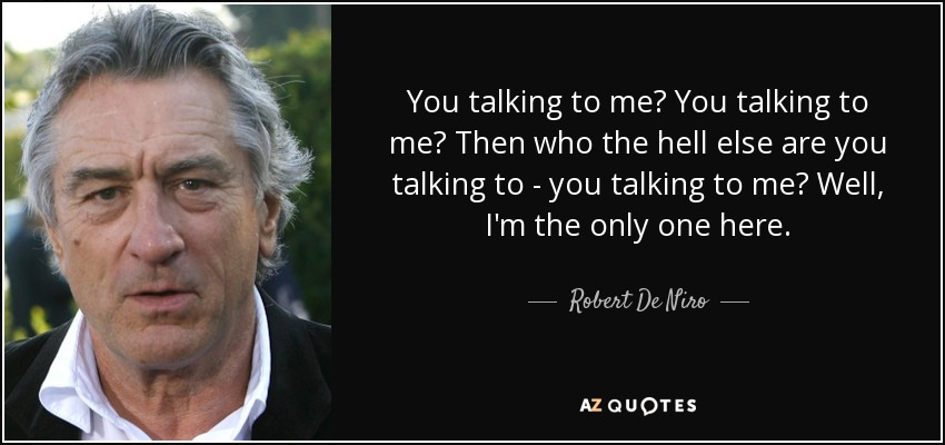 You Talking Me Movie