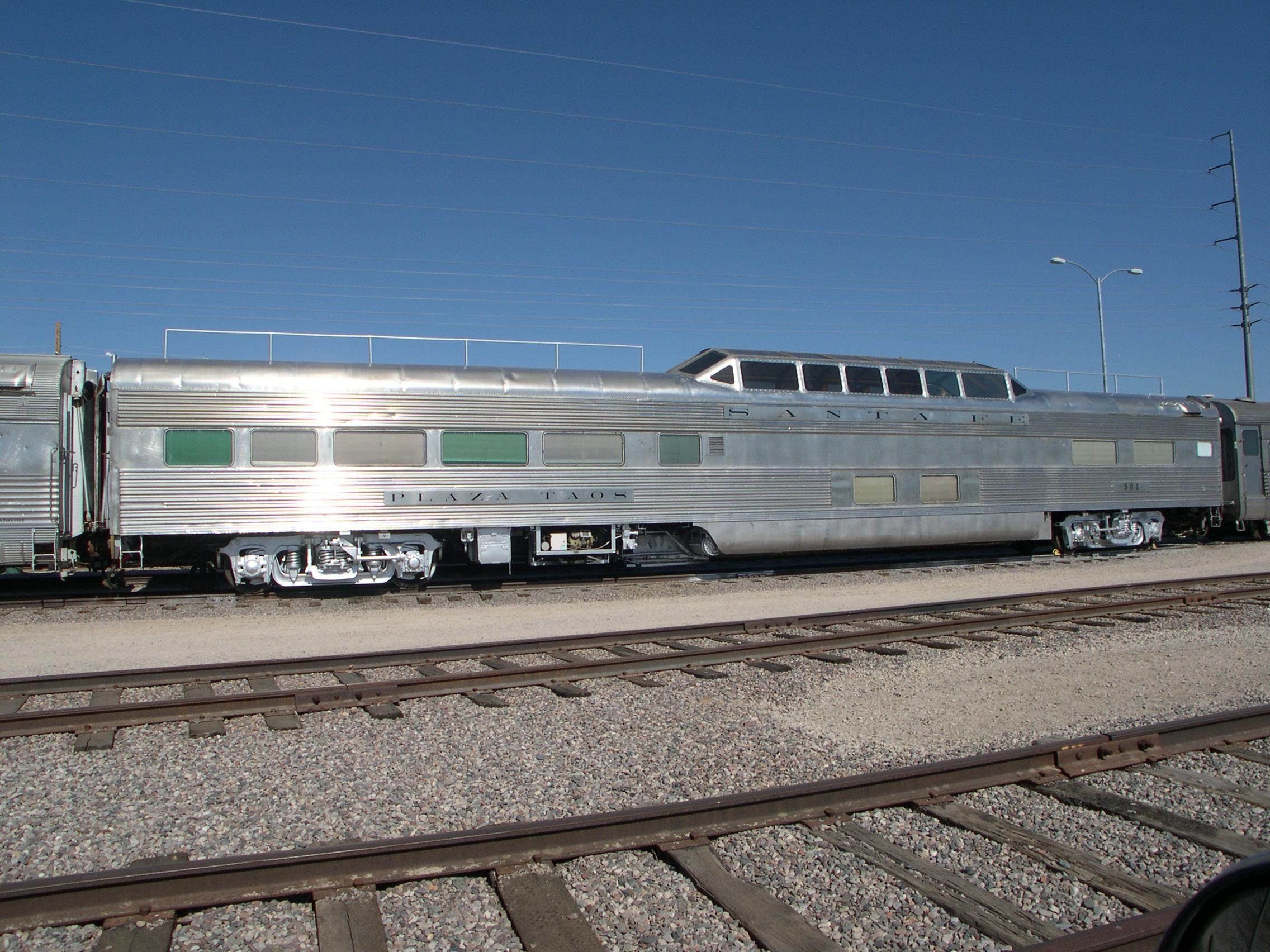 Santa Fe Dome Car