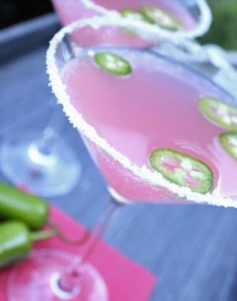 Jalapeno Grapefruit Martini