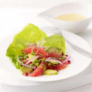 Pink Grapefruit & Avocado Salad from eatingwell.com