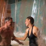 Massaging Waterfalls Pool