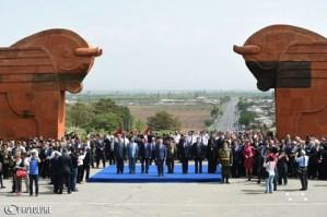في رسالته بعيد جمهورية أرمينيا الأولى الرئيس الأرميني: 28 أيار هو يوم خلاص الأرمن وانبعاثهم ونهضتهم