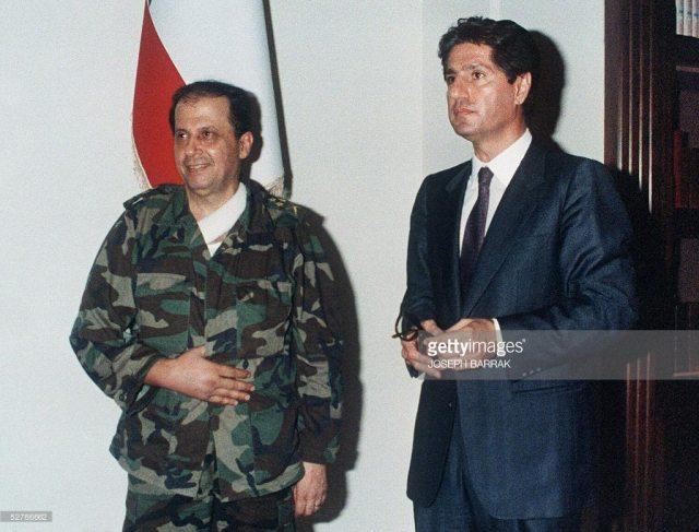 Ամին Ժեմայէլի հետ` Պաապտայի մէջ. 22 սեպտեմբեր1988