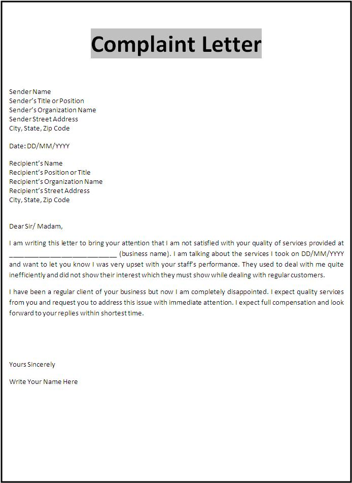 How to Write an Airline Complaint Letter