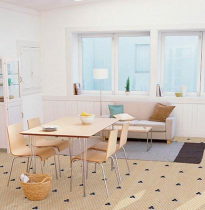 Crea un ambiente especial utilizando piezas de mosaico