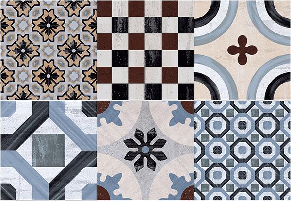 Decoraci n con azulejos hidr ulicos un toque vintage en for Azulejos on line