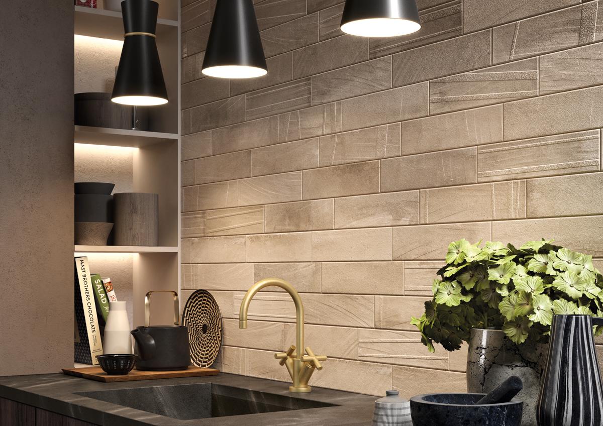 Materiales exclusivos para el revestimiento de la cocina azulejos pe a - Revestimiento pared cocina ...