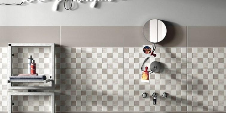 azulejos de color en el hogar