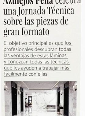 Azulejos Peña celebra una jornada técnica en Getafe