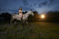 Horse Riding Portrait Lighting - Horse Photorgaphy - Horse Photorgaphy Workshop - Horse Photography Howto - Austin Photo Workshops - Austin Senior Photos