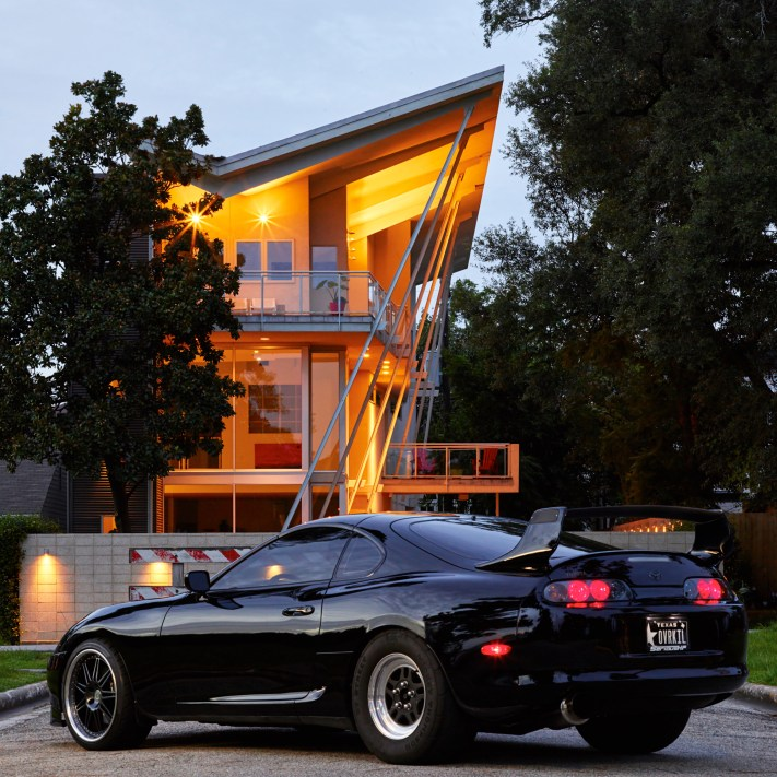 Austin Car Photography - Toyota Supra - Phase One IQ3 100