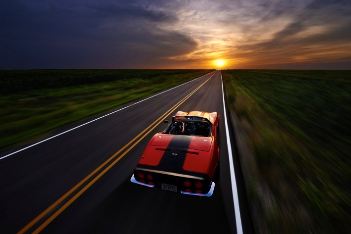 1969 Corvette Virtual Rig - Automotive Photorgaphy - Ansel Adams, Equipment and Creativity