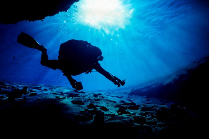 Cave Diving Photography in Austin Texas - You can't make a photo without being prepared to do so. Success in photography.