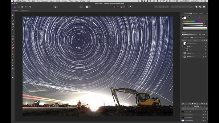Shooting Star Trails with a Cheap Camera - D5000 - Digger Star Trail