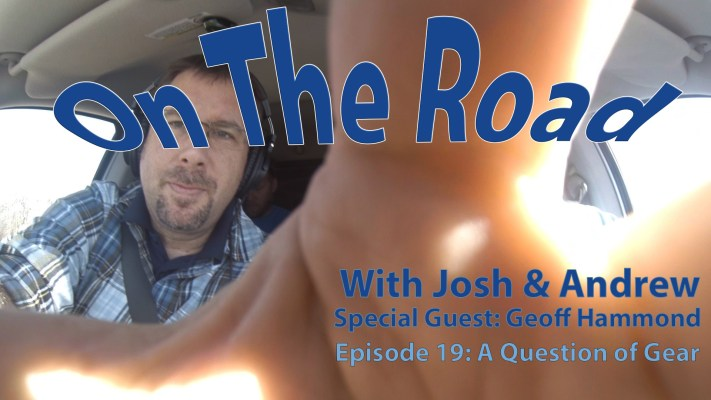 On the Road Podcast 14 – A Question of Gear with Geoff Hammond