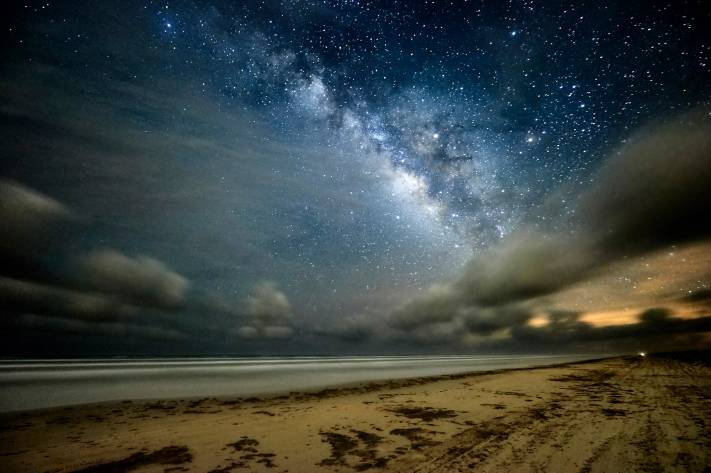 Padre Island Milky Way - Capture One and Affinity Photo Edit Walk Through - Austin Photo Workshops - Milky Way Photography - Milky Way Photo Edit