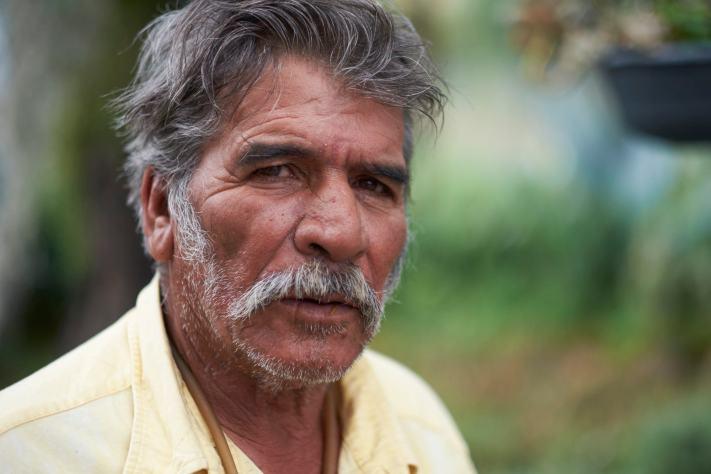 Las Trancas Native - Travel Photography - Travel Portait