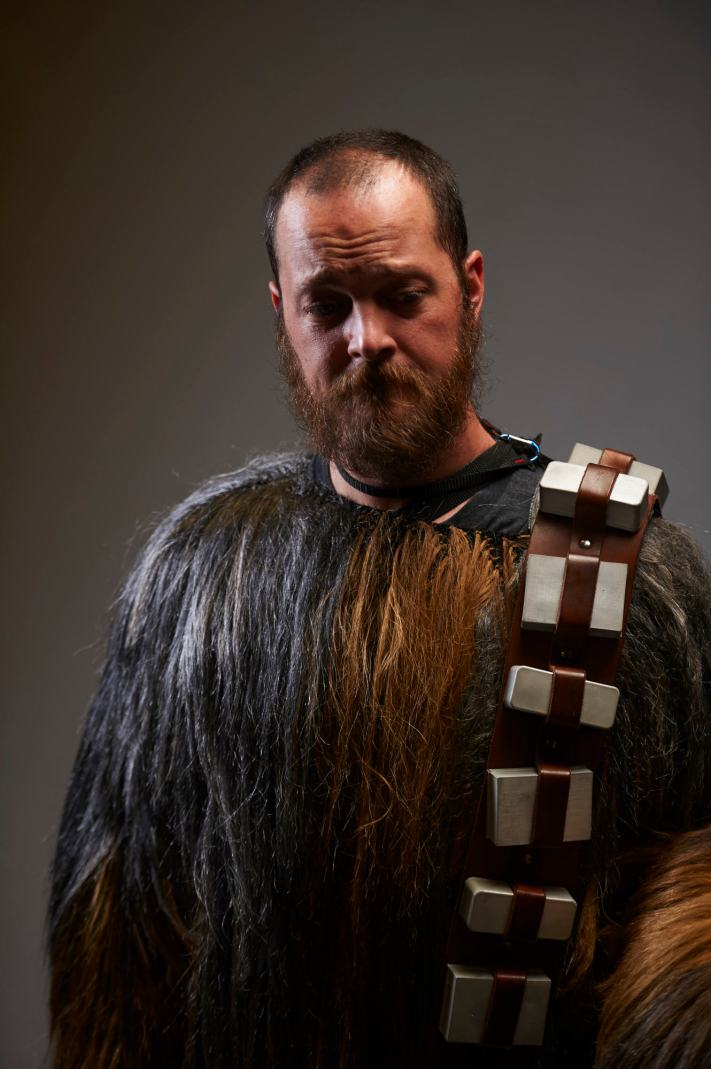 Chewbacca Cosplay - Comic Con Photorgaphy - Light Testing Portrait - Portrait Workshops