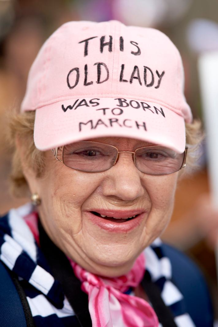 Austin Women's March - Born to March - Portraits on the Street