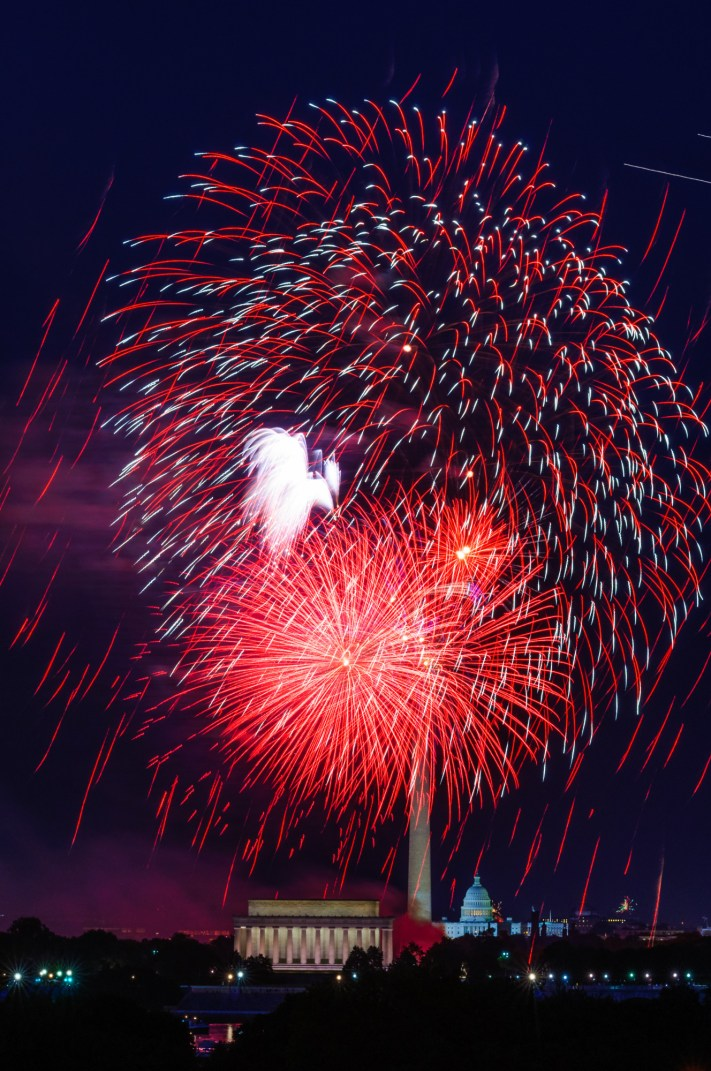 Washington DC 4th of July Fireworks - Photographing Fireworks - 4th of July Fireworks Photography - Austin Fireworks Photography Workshop