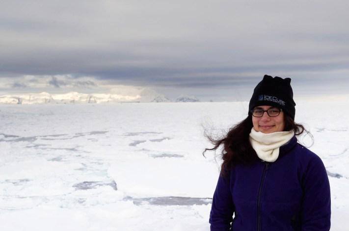 Adrian Dahood-Fritz - Antarctic Researcher - Portrait on Antarctica