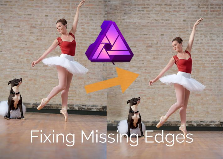 Fixing Missing Edges in Affinity Photo