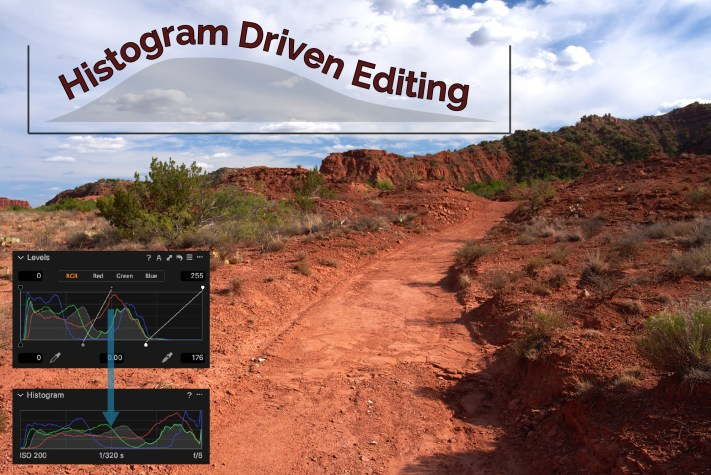 Capture One Histograms and Levels - Editing by Histogram