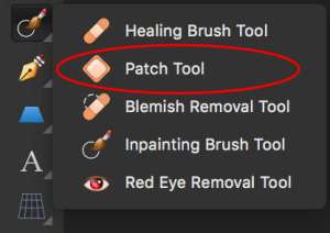 Affinity Photo - Patch Tool