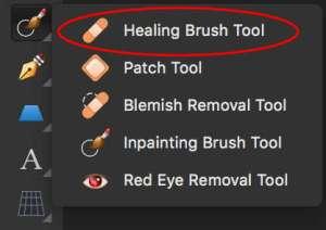 Affinity Photo - Healing Brush Tool