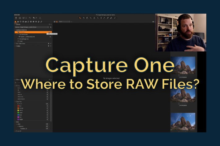 Capture One - Where to store RAW files - Blog Cover-80