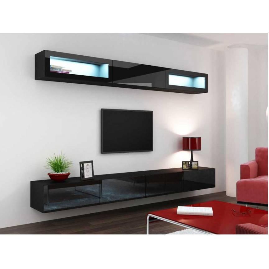 meuble tv vigo trend noir sejour