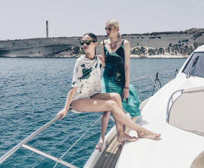 Style On Board Ultimate Yacht Fashion Photography Azure