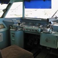 パノラマカーの運転室