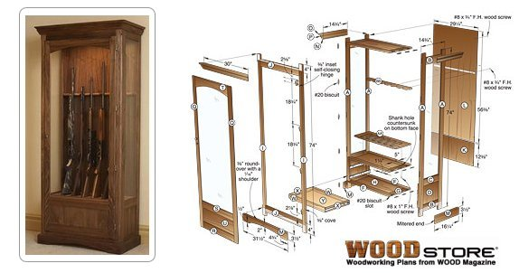 how to build wood cabinets