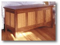 wooden hope chest plans