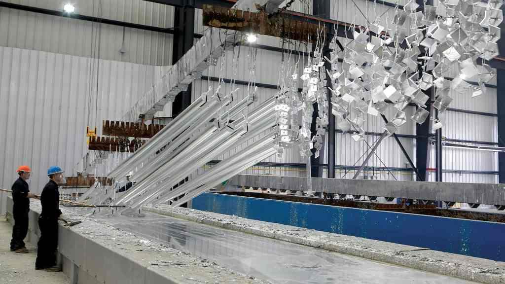 hot-dip galvanizer critical infrastructure, AZZ