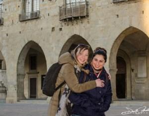 Sara Ferranti e Irene Savasta