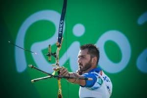 Mauro Nespoli in azione (fonte foto: profilo Facebook personale)