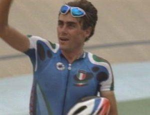 Silvio Martinello, oro nella corsa a punti ad Atlanta '96