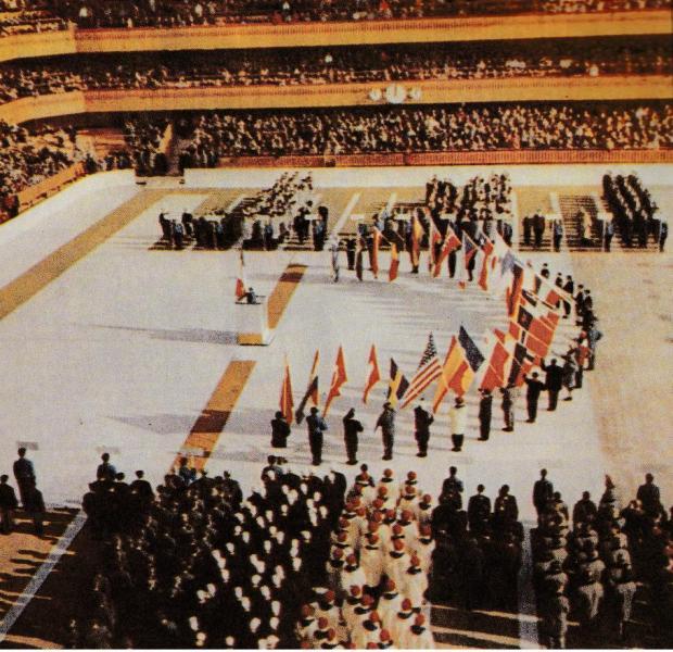Le Olimpiadi invernali 1956, disputate a Cortina d'Ampezzo